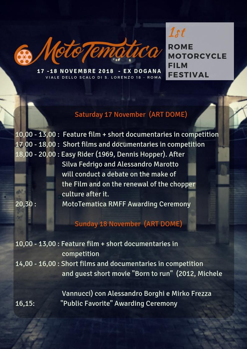 RMFF Program 2018